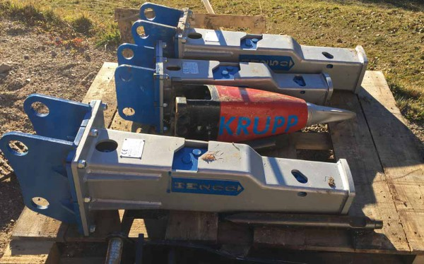 Abbruchhammer 60-500 kg